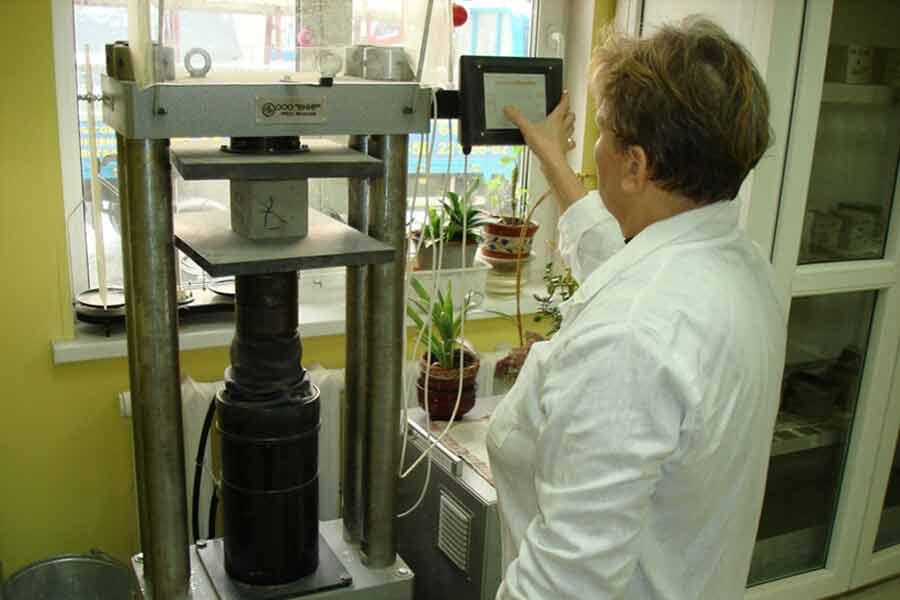 Испытания товаров в лаборатории