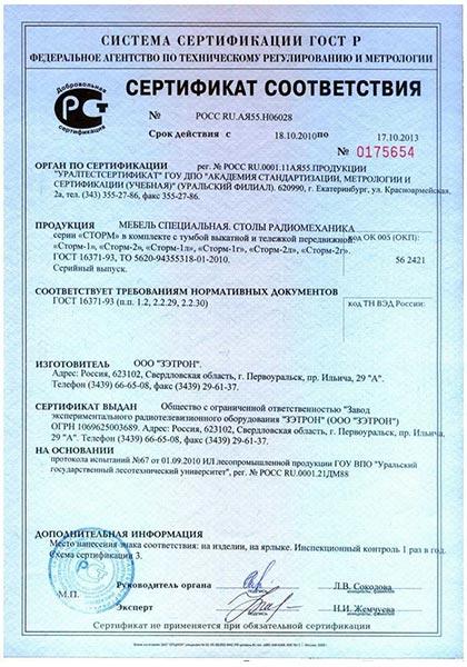 Где получить сертификат соответствия на продукцию